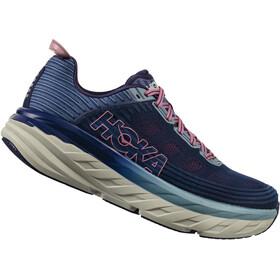 Hoka One One Bondi 6 Running Shoes Women pink/blue